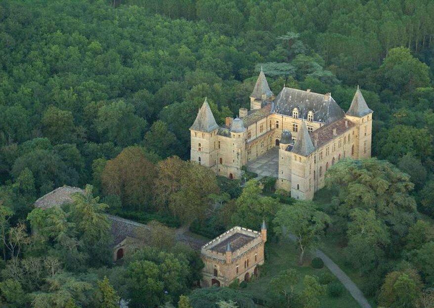 Le Château de Caumont : un décor de carte postale à proximité de Toulouse