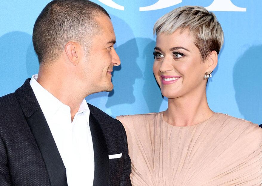 Katy Perry e Orlando Bloom ficaram noivos no Dia dos Namorados!