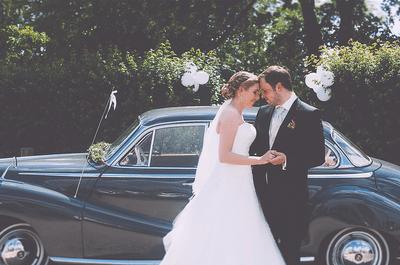 Qual seria o transporte de casamento que escolheria?