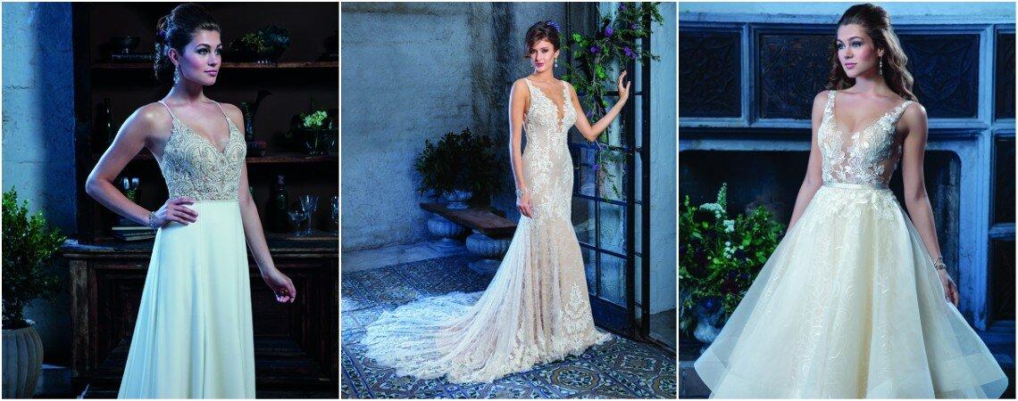 Verlieben Sie sich in die neue Isabella Kollektion von Amaré Couture 2018!