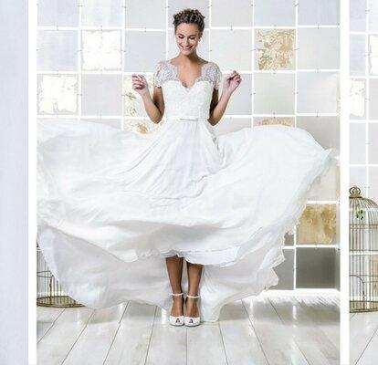 f5c632e68 Vestidos de noiva da colecção Gio Rodrigues Wedding 2017: descubra a melhor  selecção para si!