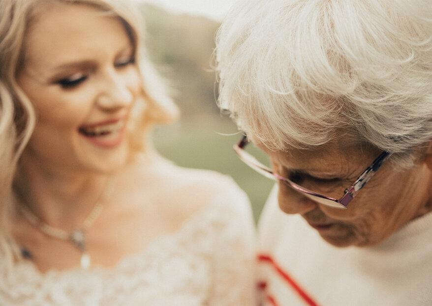 Neta surpreende avó ao usar o seu vestido de noiva de 1962: conheça esta história repleta de emoção!