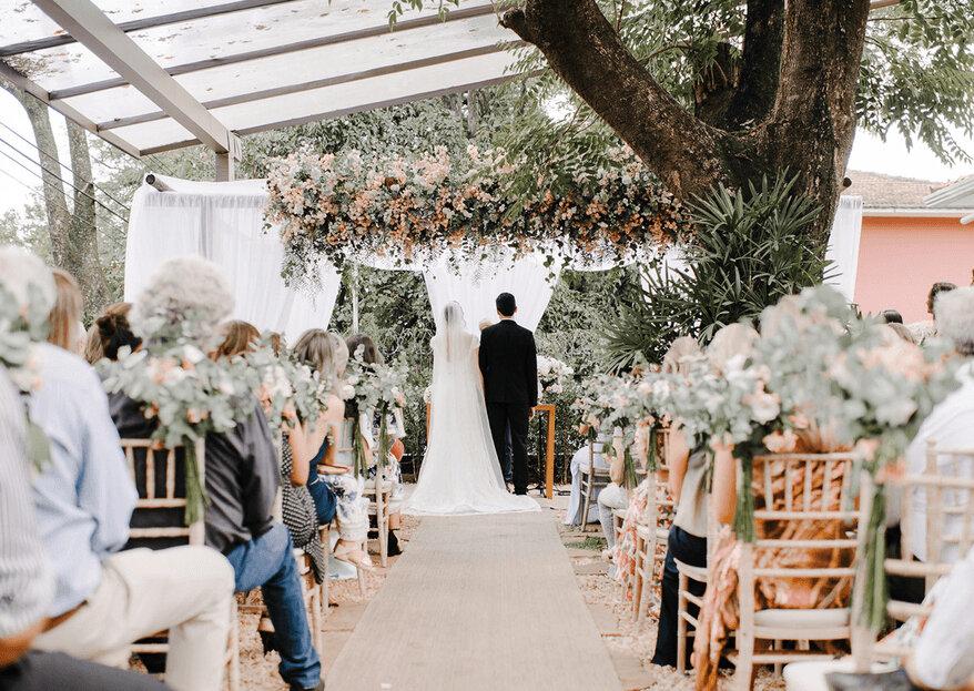 Espaços diferenciados e muito especiais para celebrar o casamento dos sonhos!