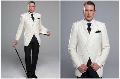 L'élégance jusque dans les moindres détails pour votre tenue de marié signée Kees van Beers