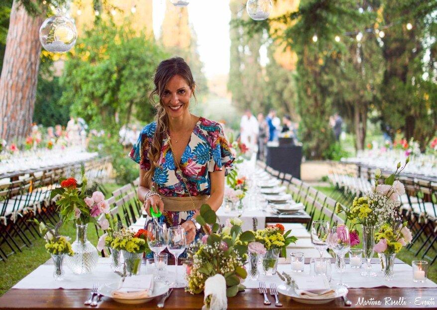 Martina Roselli Eventi: ascolta, interpreta e realizza i vostri sogni matrimoniali con eleganza e cura per i particolari!