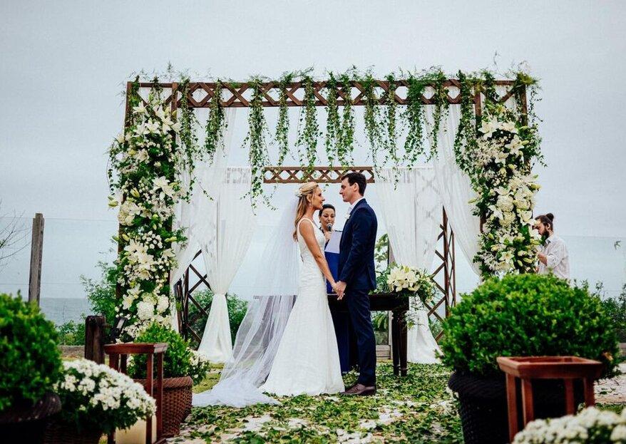 Praia do Estaleiro Guest House: o espaço perfeito para casamentos na paradisíaca praia do Estaleiro em Balneário Camboriú/SC
