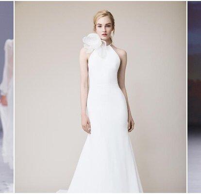 Vestiti Da Sposa Donna.Abiti Da Sposa Collo Alto Eleganza Senza Tempo Per Le Vostre Nozze