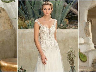 Conoce la colección otoño-invierno Casablanca Bridal 2017 que te hará soñar