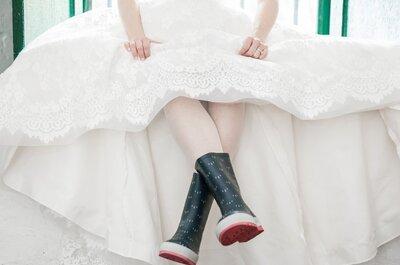 ¿Cuál es el look ideal para una novia que se casa en clima frío? ¡Descúbrelo!