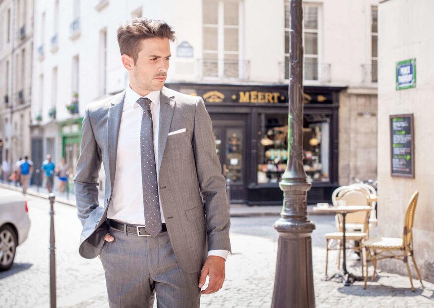 Soyez le plus élégant le jour J pour éblouir les invités dans votre costume