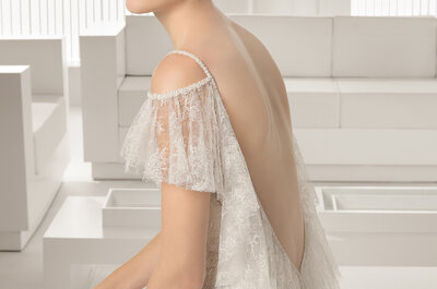 Original looks and classic cuts from Rosa Clará 2015