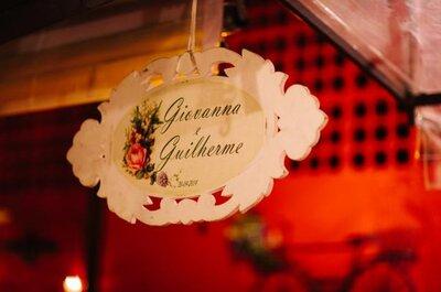 Giovanna e Guilherme: mini wedding retrô no Restaurante Quintal em São Paulo
