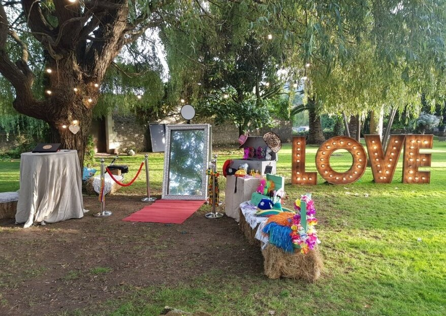 Brizaa fiesta: mucho más que un fotomatón de bodas