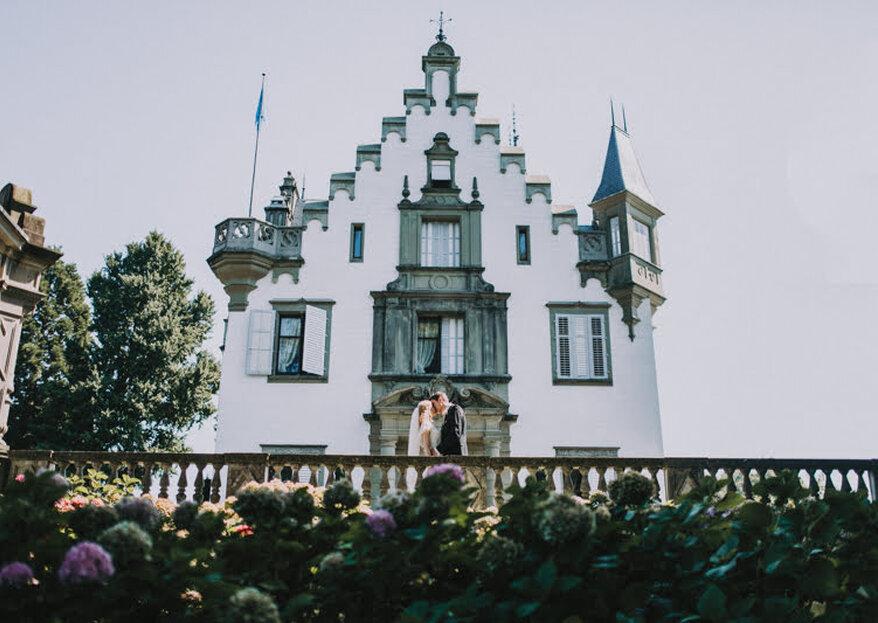 Interkulturelle Hochzeit im Schloss Meggenhorn bei Luzern – Elena & Ralf organisierten ein geniales DIY-Fest