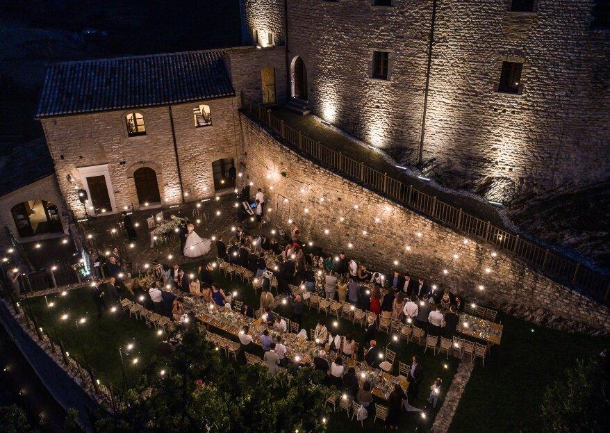 Il Castello di Naro ospiterà le vostre nozze da mille e una notte, in una cornice sospesa nel tempo