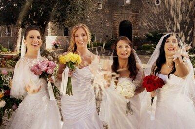 Quattro matrimoni in Italia: al via la seconda stagione. Partecipa anche tu al casting!