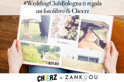 Contest Wedding Club Bologna: Zankyou ti regala un fotolibro di Cheerz!