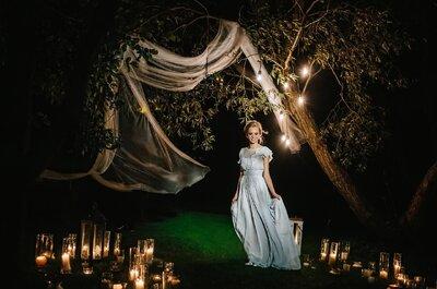Освети свою свадьбу: 5 самых оригинальных идей