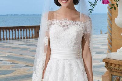 Vestidos de noiva Sincerity Bridal 2015: bordados artesanais e cortes sensuais