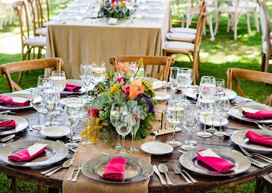 El apoyo, la decoración y las delicias que no pueden faltar en tu boda