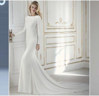 Vendita calda 2019 classcic prezzo ragionevole 50 abiti da sposa semplici: quando l'essenziale è visibile ...