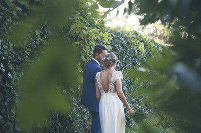 Una boda hecha a mano y con amor: el gran día de Sonia y Ángel