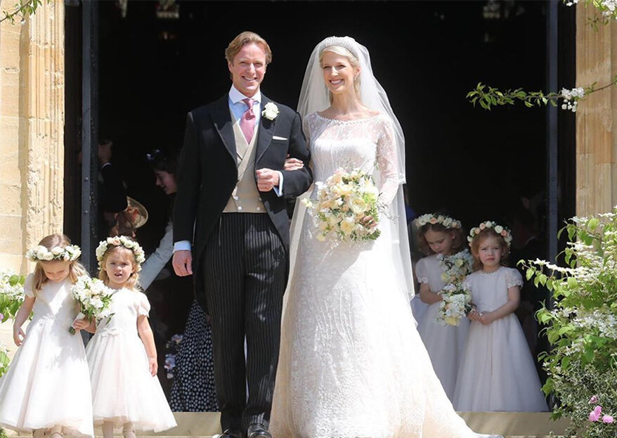 Royal Wedding: Lady Gabriella Windsor casou este sábado com Thomas Kingston