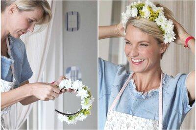 Quando il Green diventa Glam: accessori floreali per sposa ed invitate