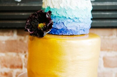 Technicolour Dream Cakes - Colourful wedding cakes that look too good to eat!