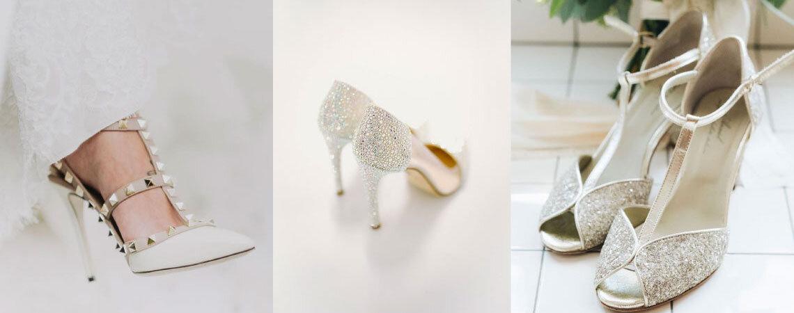 10 paia di scarpe che tutte le spose del 2018 vorranno ai loro piedi