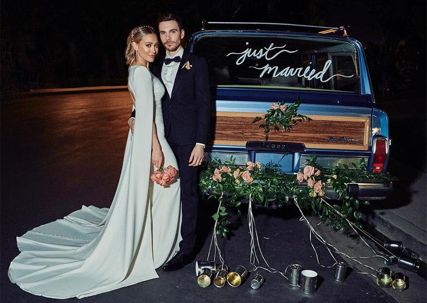 Hilary Duff casou em segredo com Matthew Koma. Veja as fotos!