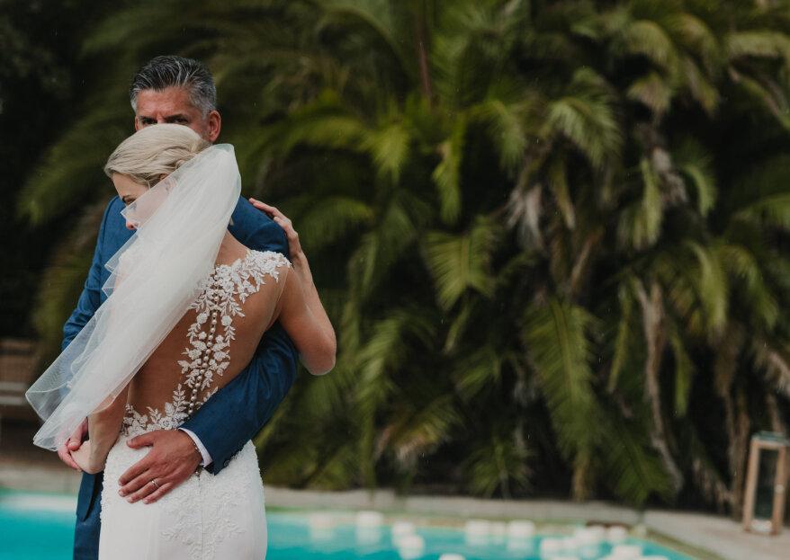 Una boda internacional en Toledo: el gran día de Lauren y Jevin
