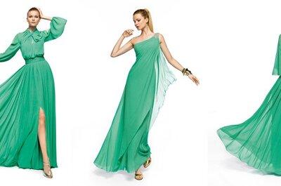 Verde smeraldo, il colore della sposa 2013