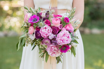 Buquê de peônias: um dos mais desejados pelas noivas!