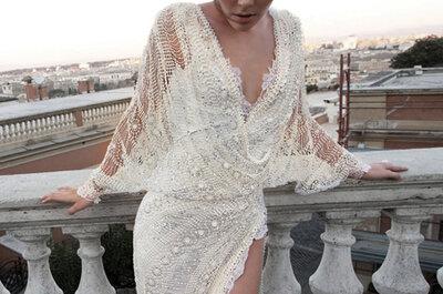 Os belíssimos vestidos de noiva Inbal Dror