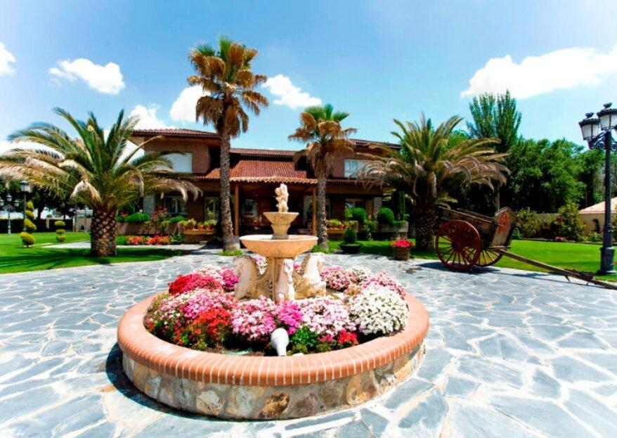 Quinta del Alba: un espacio bello y delicado para bodas con mucha personalidad
