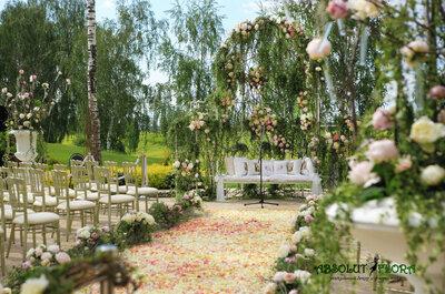 Уникальная свадьба? Студия флористики и декора Absolut Flora воплотит ваши мечты в реальность!