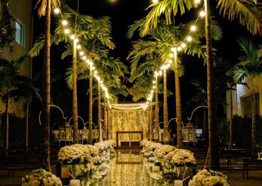 Os diferentes espaços para um casamento clássico: conheça todas as alternativas e escolha a sua!