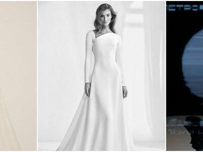 Vestidos de novia corte A. ¡Más de 40 modelos para inspirarte!