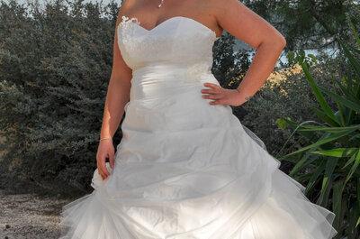 Enfin une collection de robes de mariée qui sublime les rondeurs