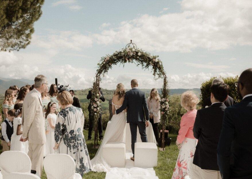 Un matrimonio della durata di 3 giorni, quello indimenticabile di Katy e Ross