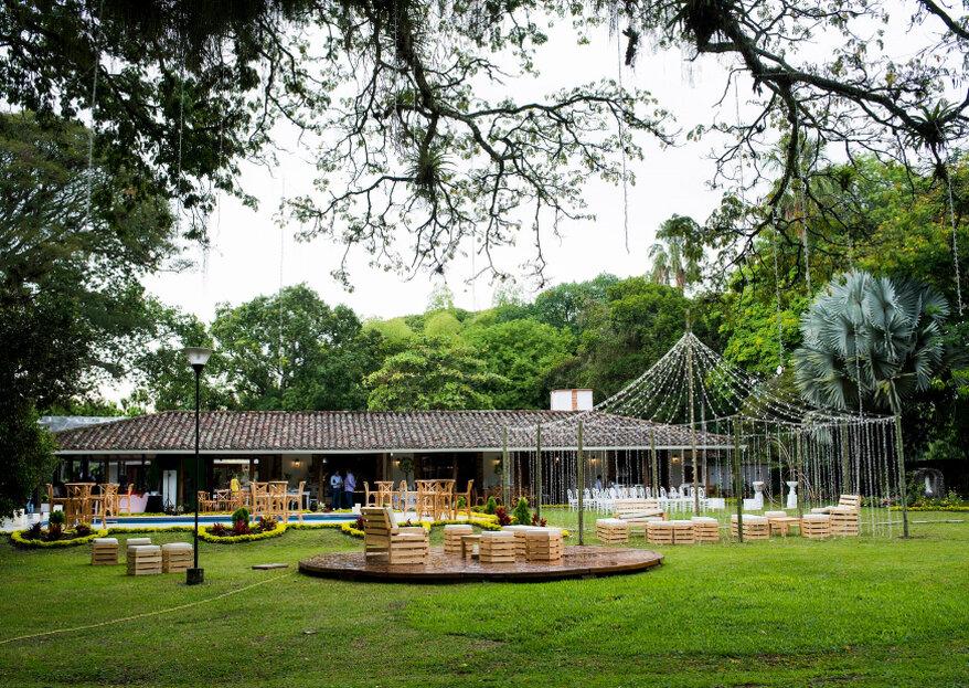 Hacienda El Tronio, la romántica locación para bodas en Cali