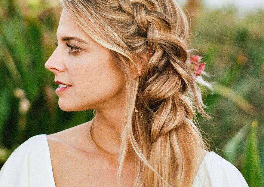 Penteados para casamento: 50 ideias para arrasar na cerimônia!