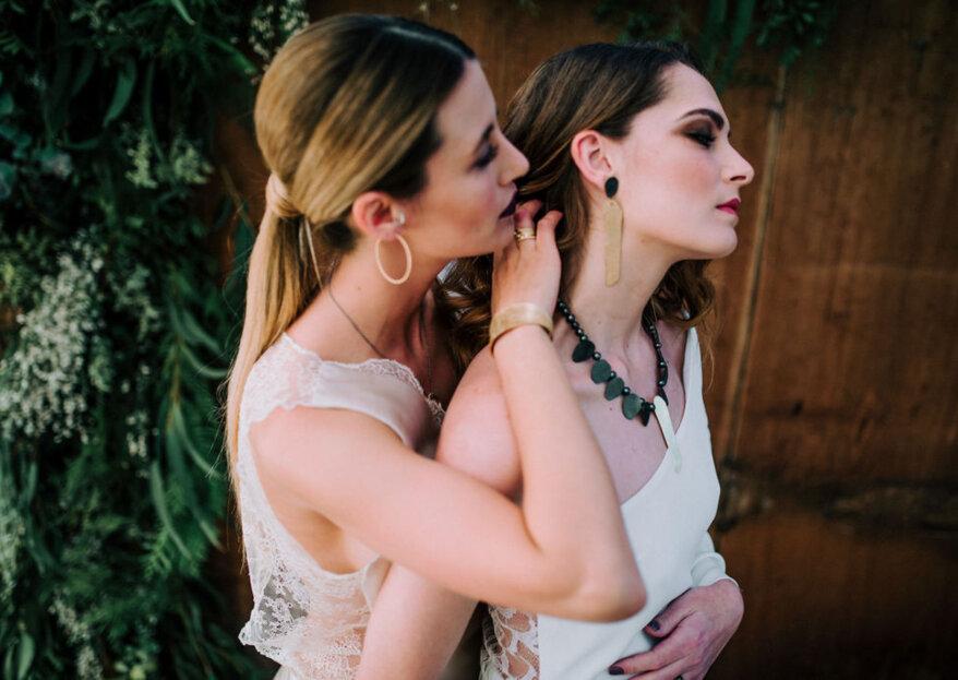 'NO RULES': la sesión editorial de boda que rompe todas las reglas
