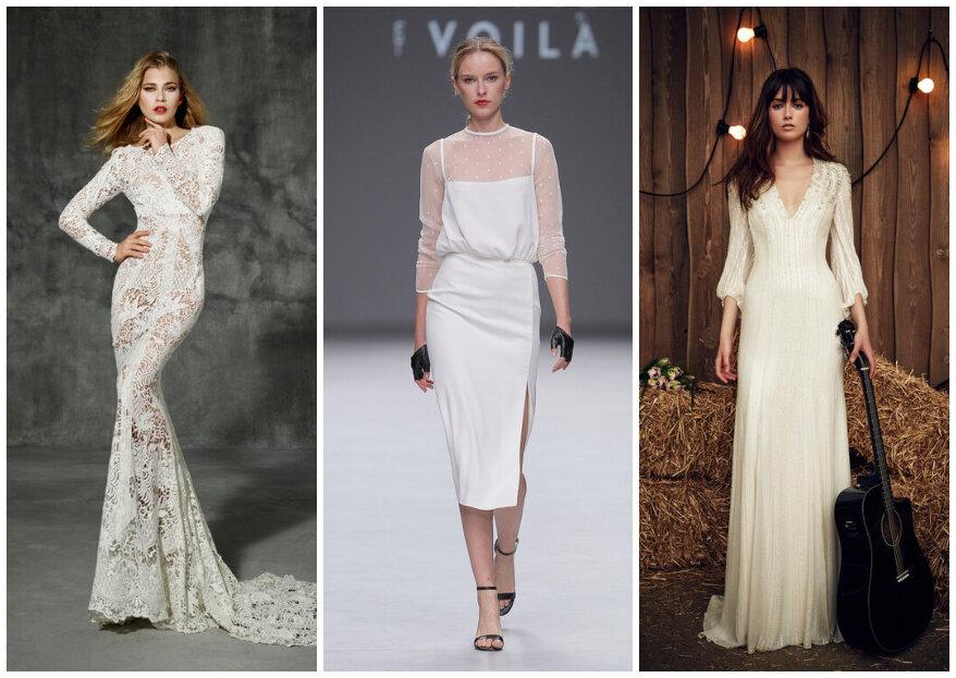 Vestido para casamento civil: 40 modelos para todos os gostos!