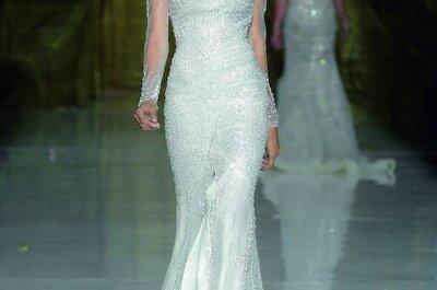 Os mais belos vestidos de noiva Pronovias 2014
