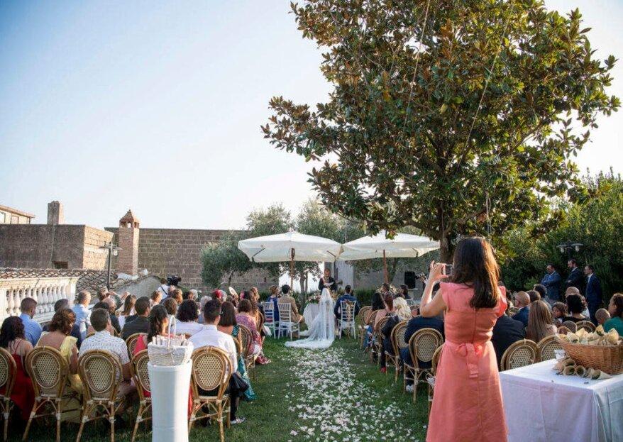 Villa Hirta: il fascino di un matrimonio celebrato in un borgo medievale