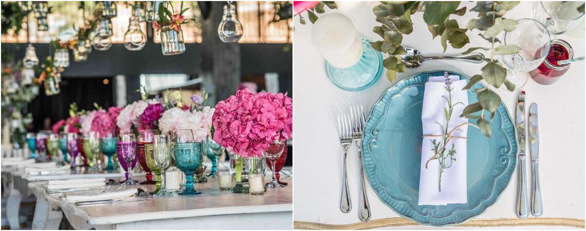 ¿Cómo decorar el banquete de bodas en cinco pasos?