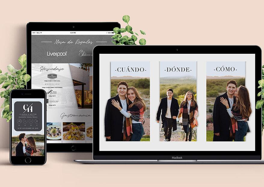 She said web: invitaciones digitales para tu boda a un solo clic
