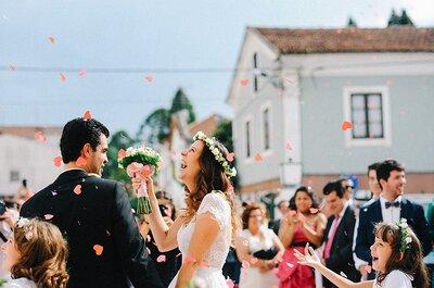 Flores naturais no penteado de noiva? Tudo o que precisam de saber, está aqui!